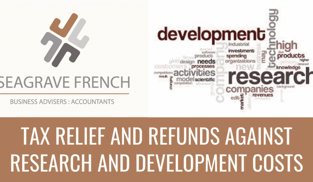 Tax Relief and Refunds Against Research and Development (R&D) Costs