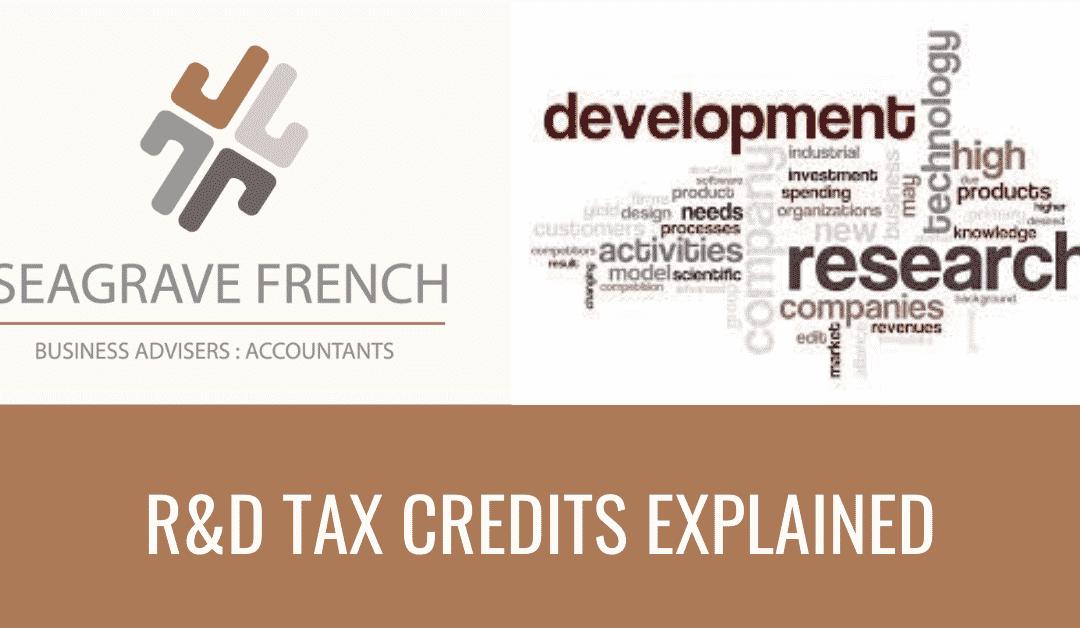 R&D tax credits explained