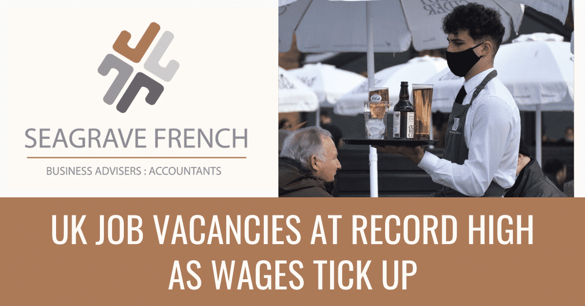 Blog featured image for uk job vacancies at record high as wages tick up