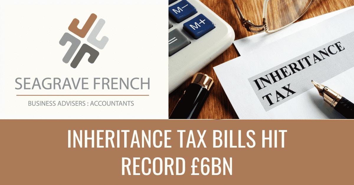 Featured Blog Image of inheritance tax bills hit record £6bn