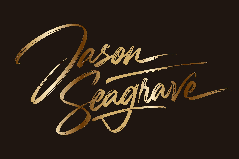 Image of Jason Seagrave Classic Gold Signature
