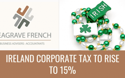Ireland corporate tax to rise to 15%